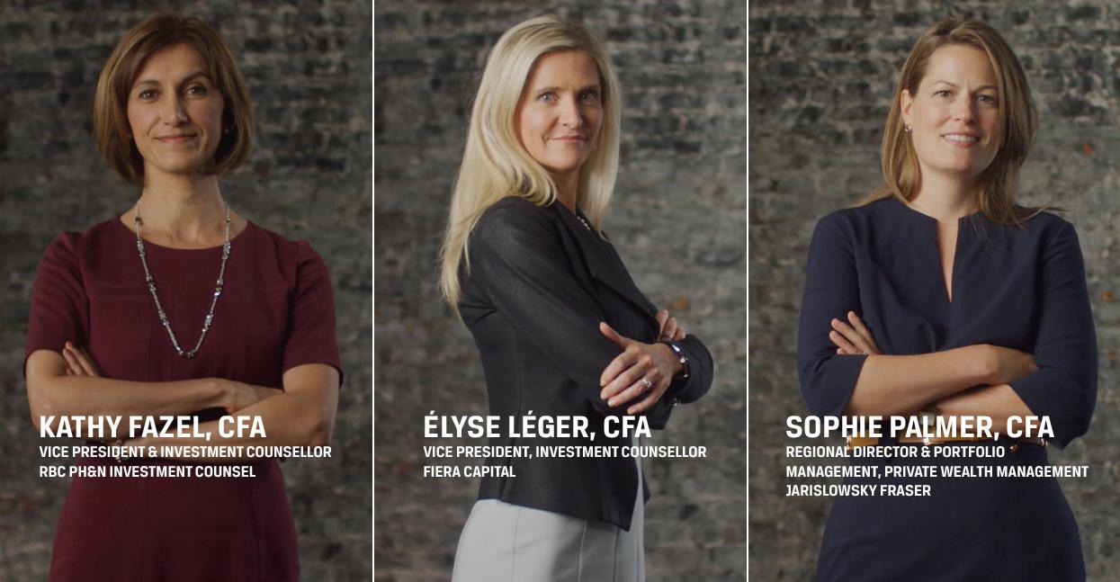 Three CFA Montréal members in the spotlight!